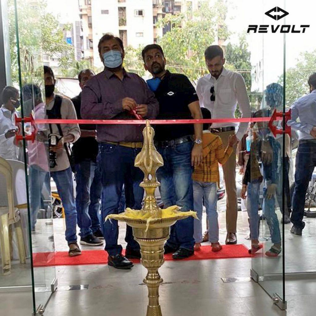 Revolt Mumbai showroom Andheri