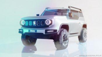 Bold Suzuki Jimny Electric previews the next-gen model of the EV-only era