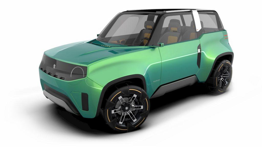 Suzuki Jimny based EV concept Uman