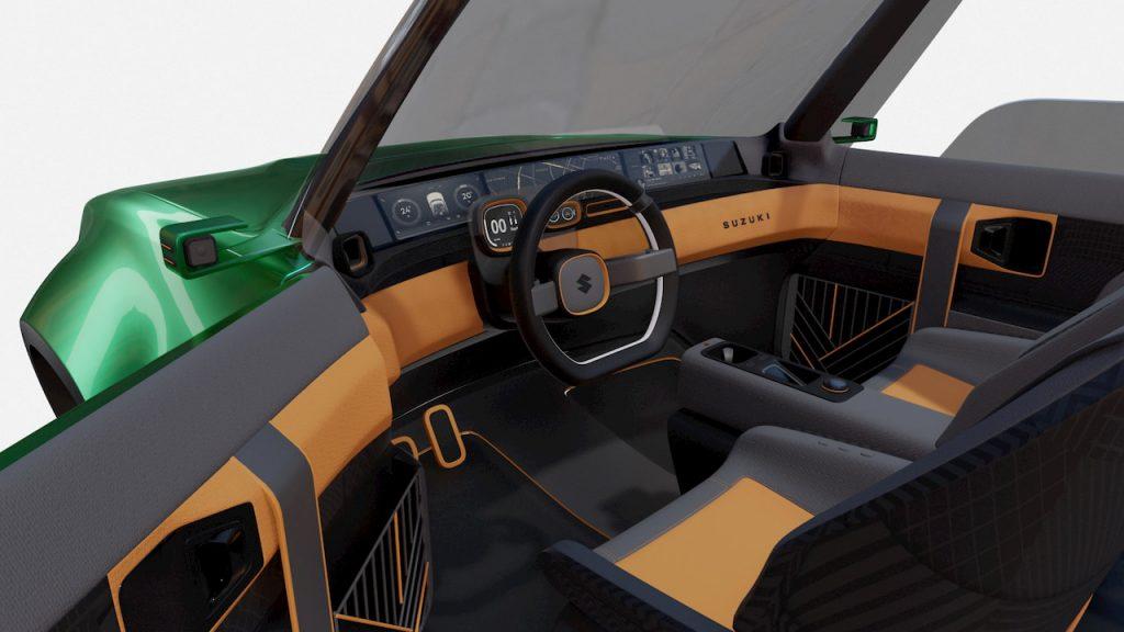 Suzuki Jimny based EV concept Uman interior