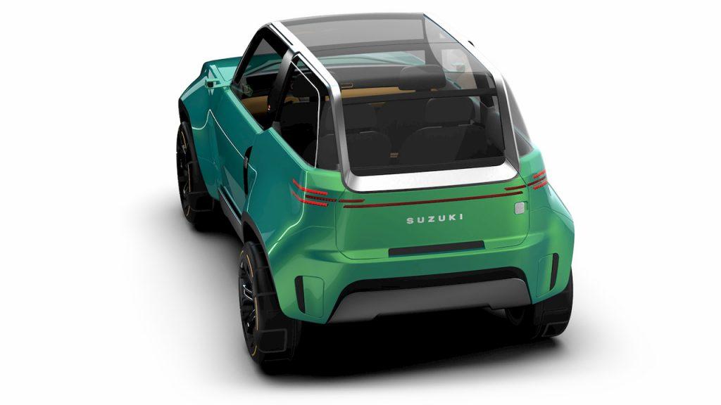 Suzuki Jimny based EV concept Uman rear