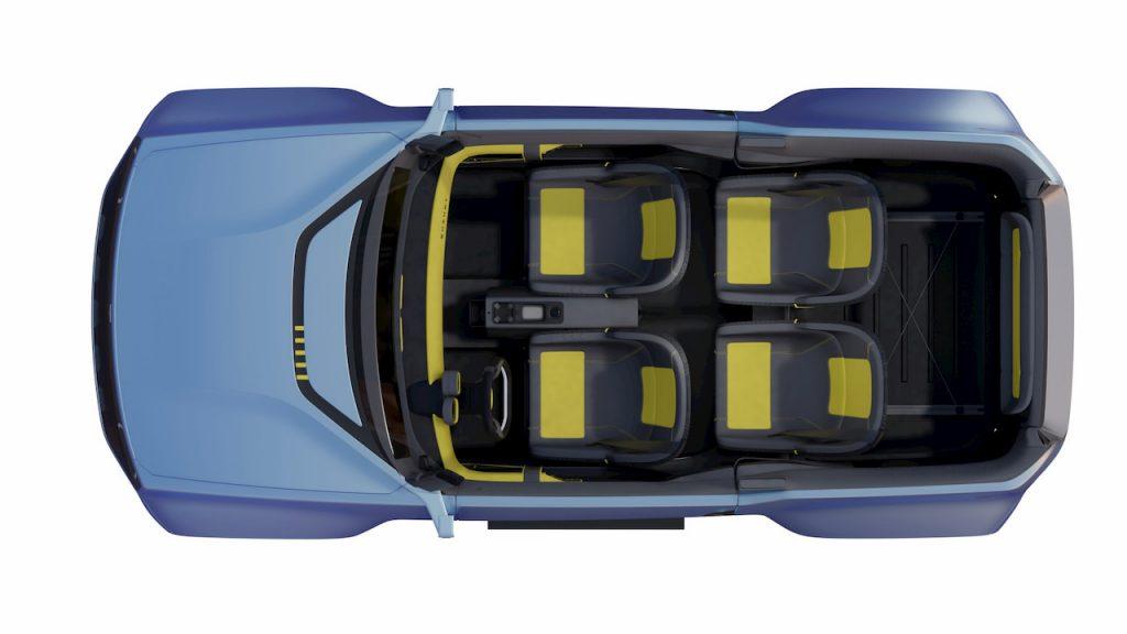 Suzuki Jimny based EV concept Uman seating