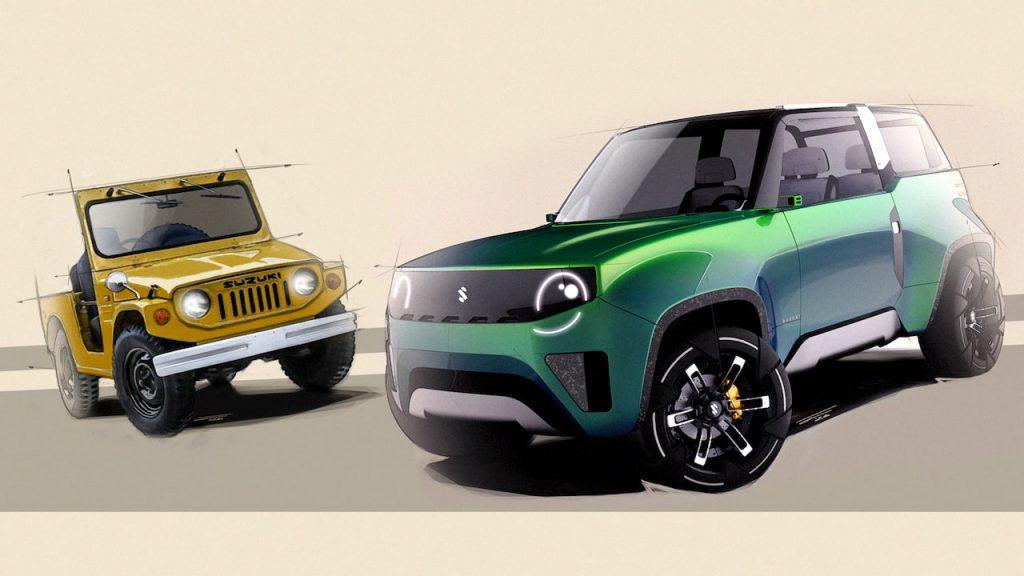 Suzuki Jimny tribute design concept