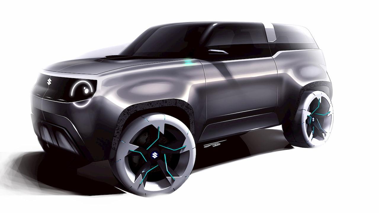 Suzuki Jimny tribute design concept U man SUV