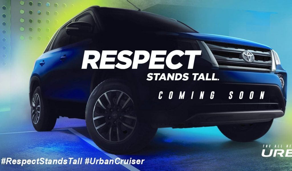 Toyota Urban Cruiser new front teaser