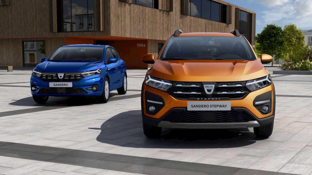 2021 Dacia Sandero 2021 Dacia Sandero Stepway front
