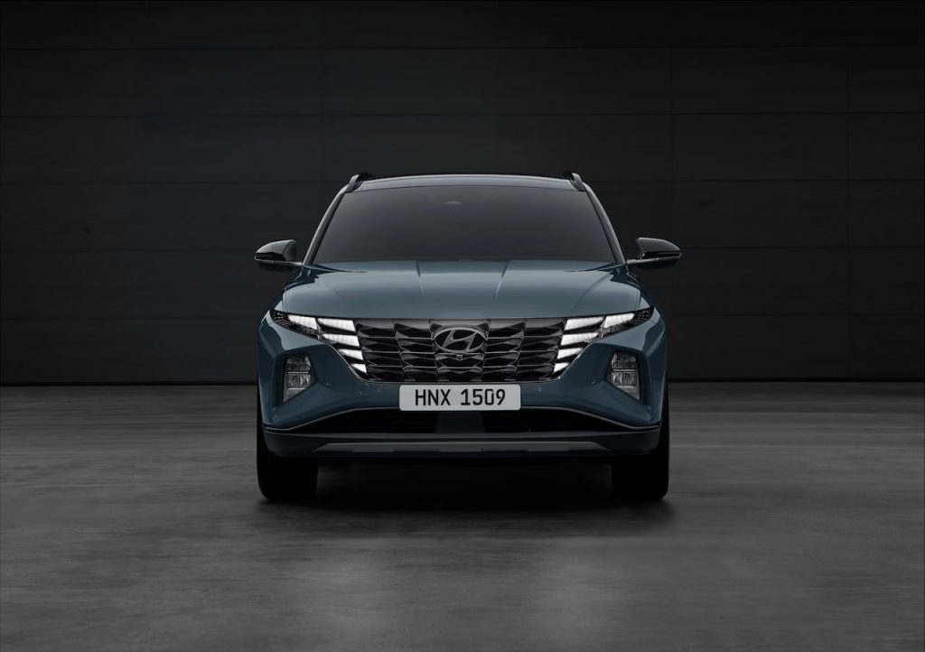 2021 Hyundai Tucson SWB front