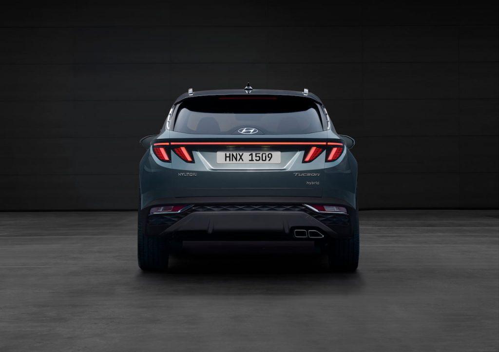 2021 Hyundai Tucson SWB rear