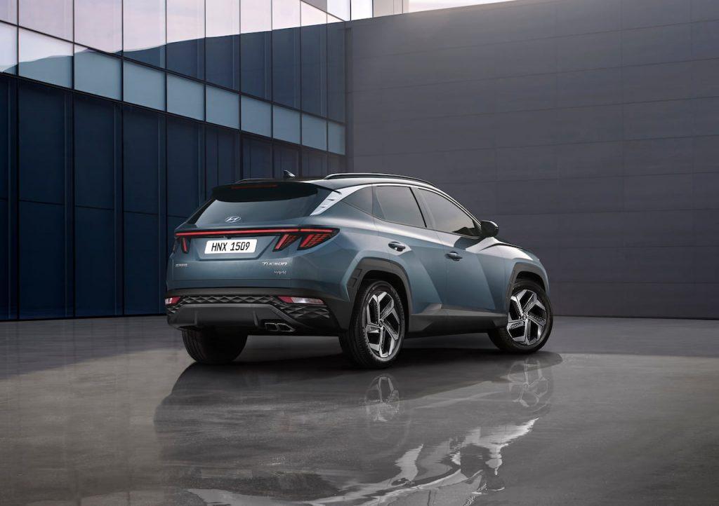 2021 Hyundai Tucson SWB rear quarters