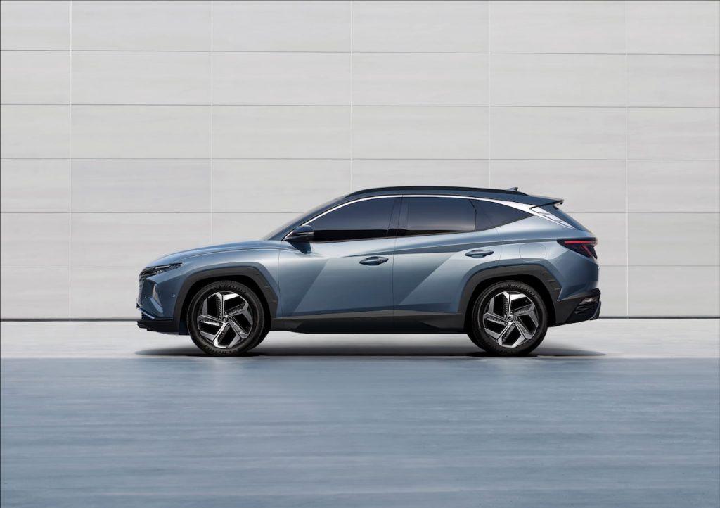 2021 Hyundai Tucson SWB side profile