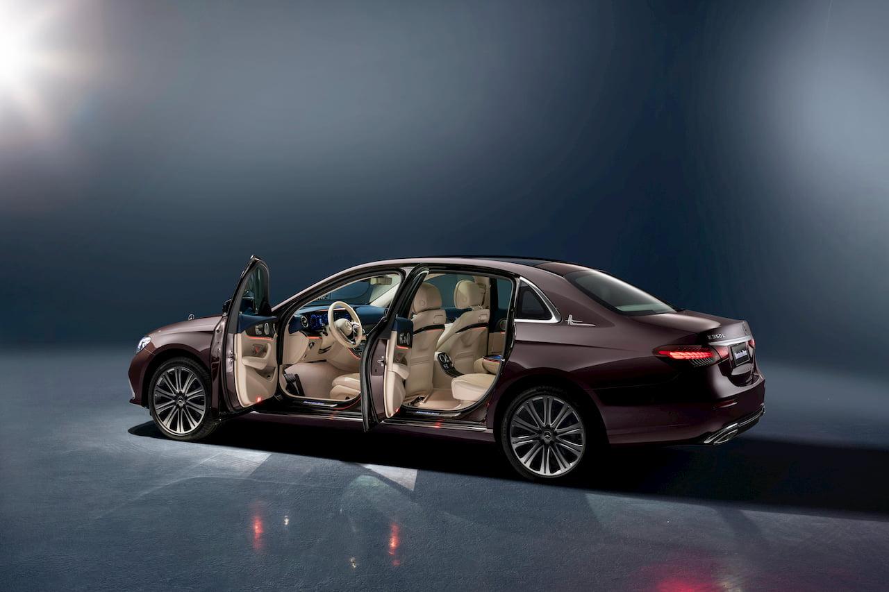 2021 Mercedes E-Class LWB facelift interior