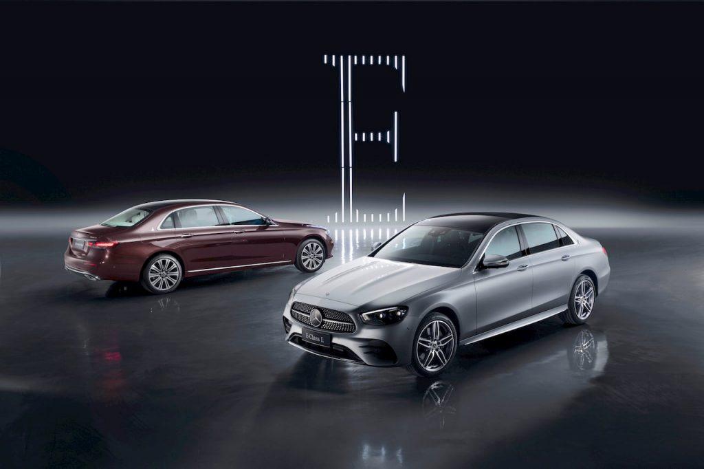 2021 Mercedes E-Class LWB facelift rear quarters