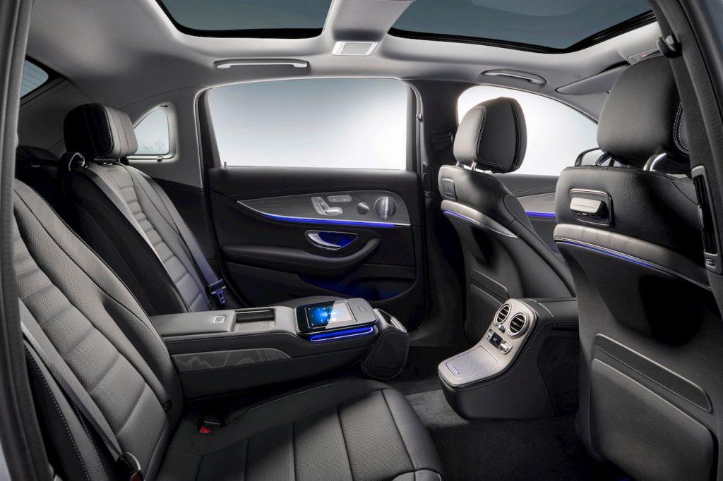 2021 Mercedes E-Class LWB facelift rear seats