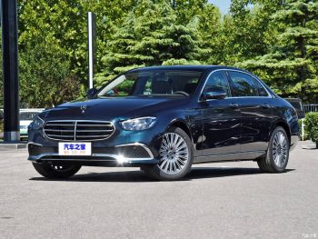 India-bound 2021 Mercedes E-Class LWB – In Live Images