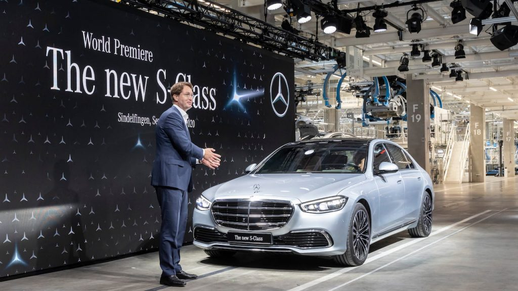 2021 Mercedes S-Class Sindelfingen production