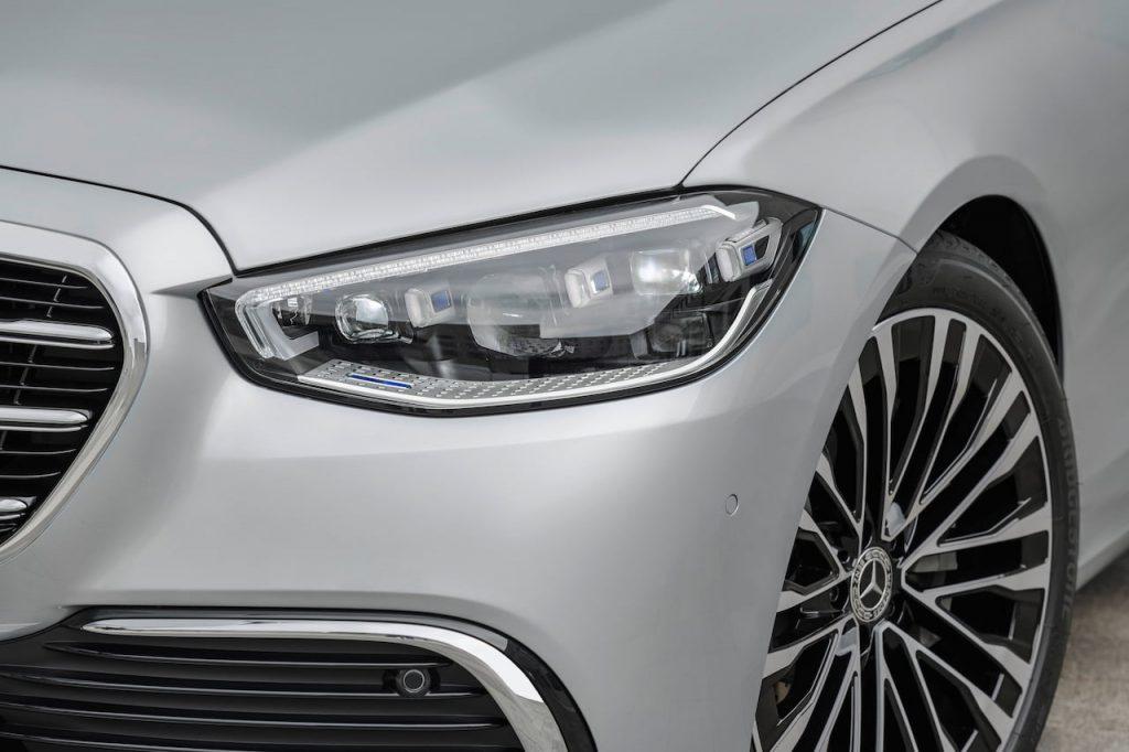 2021 Mercedes S-Class headlamp