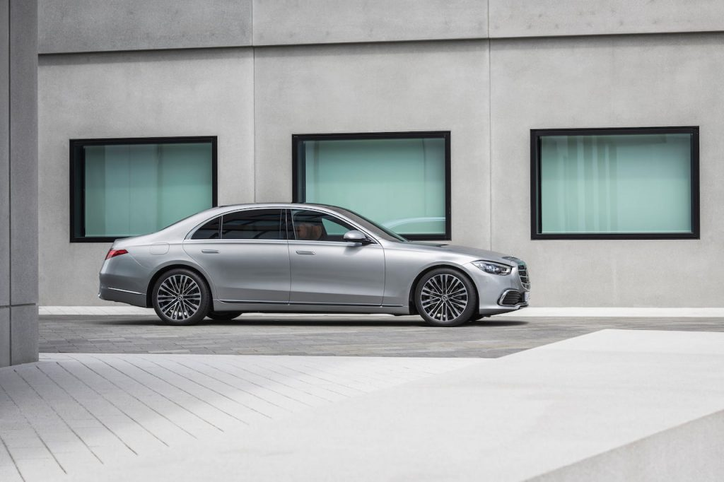 2021 Mercedes S-Class profile side