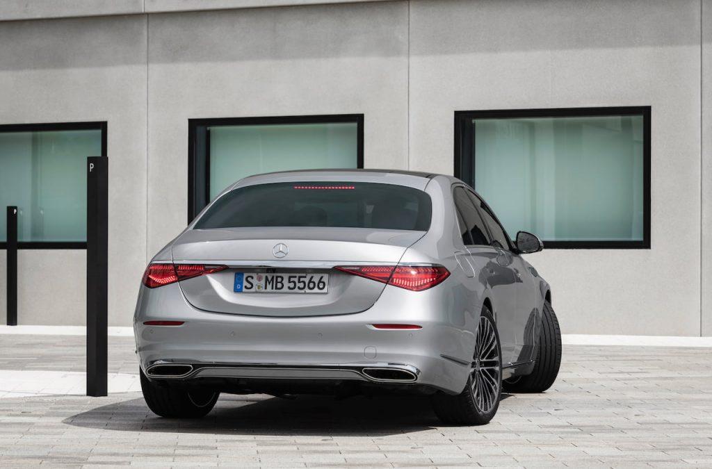 2021 Mercedes S-Class rear