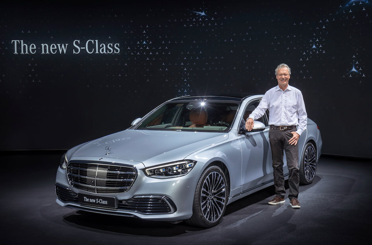 2021 Mercedes S-Class world premiere