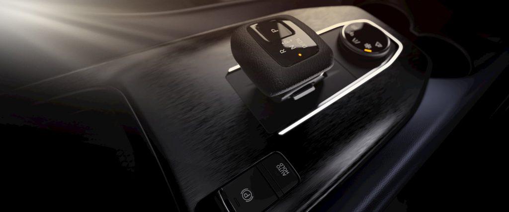 2021 Nissan Qashqai gearshifter floor console