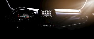 2021 Nissan Qashqai interior dashboard