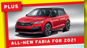 2021 Skoda Fabia rendering front quarters
