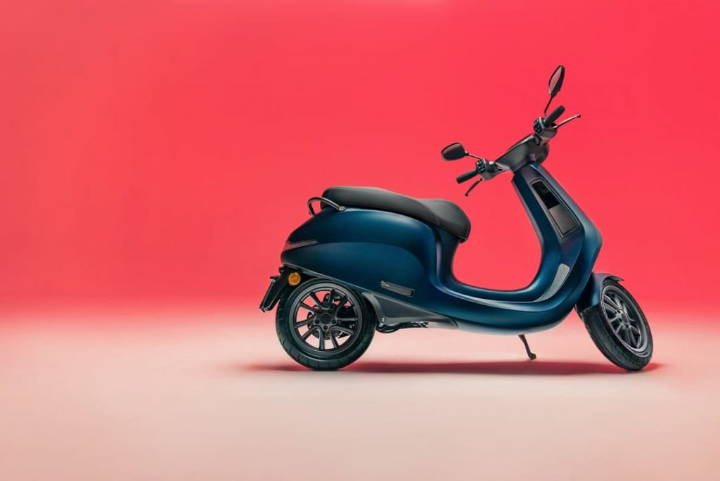 AppScooter electric scooter Etergo