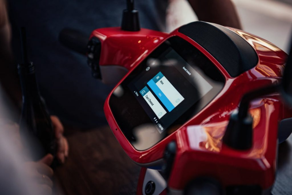 AppScooter electric scooter display