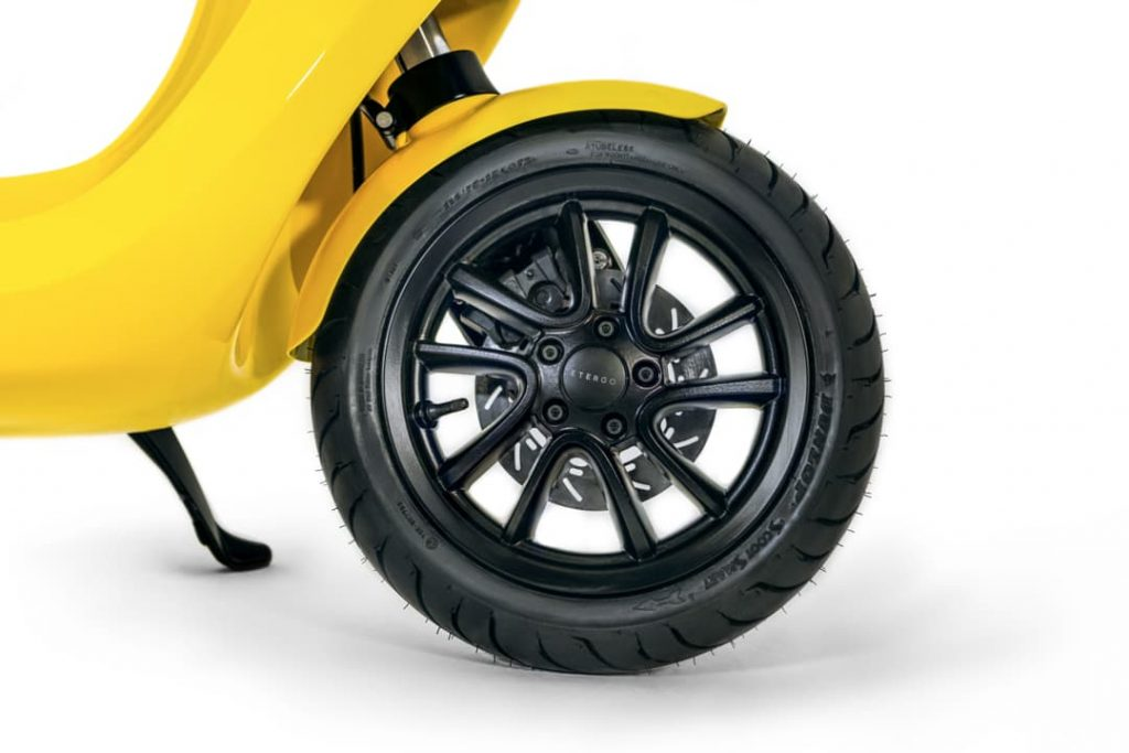 AppScooter electric scooter front wheel