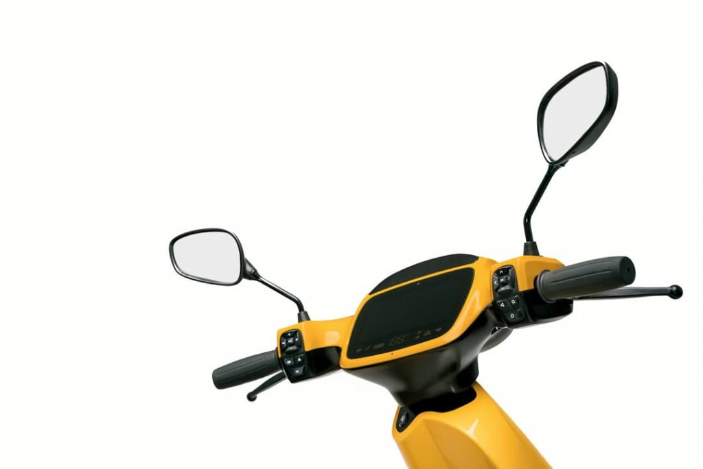 AppScooter electric scooter handlebar