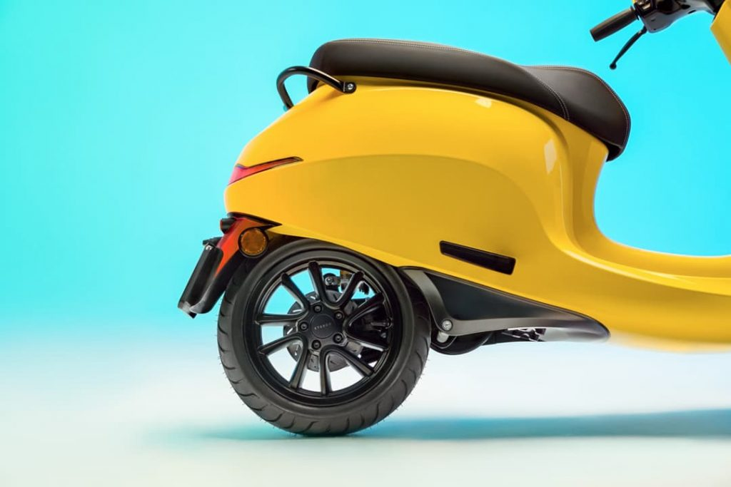 AppScooter electric scooter rear wheel