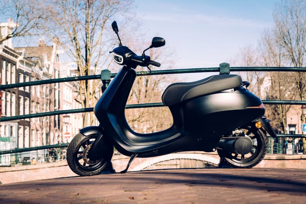 AppScooter electric scooter side
