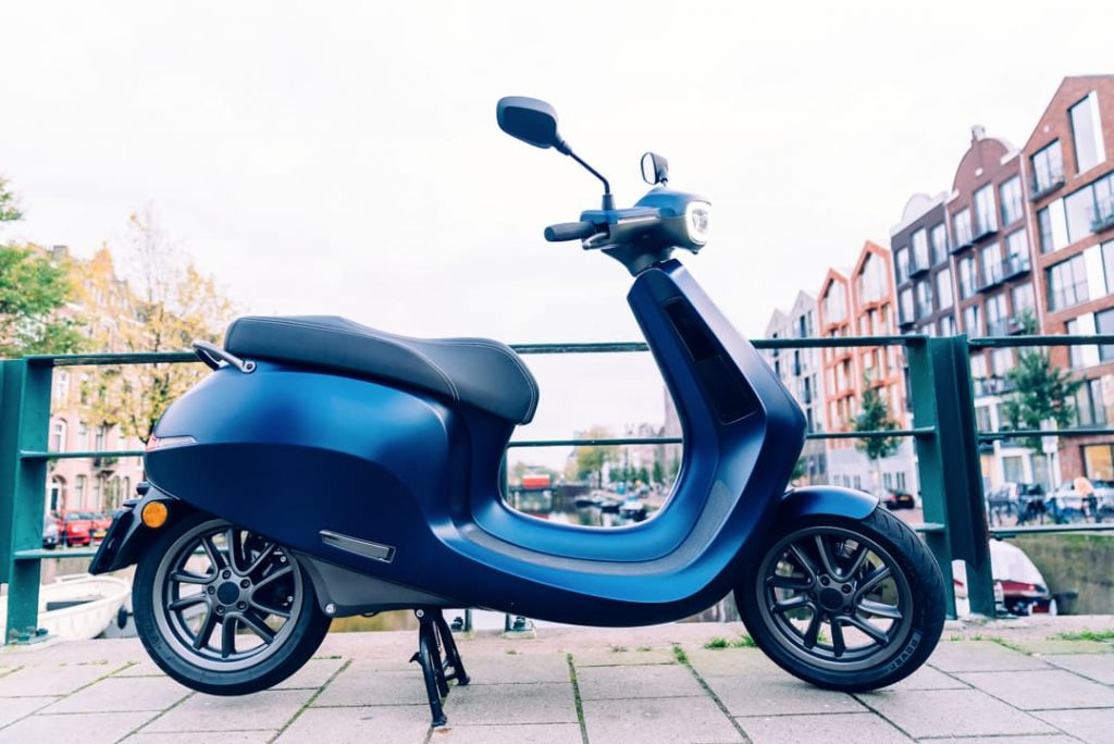 AppScooter electric scooter side profile
