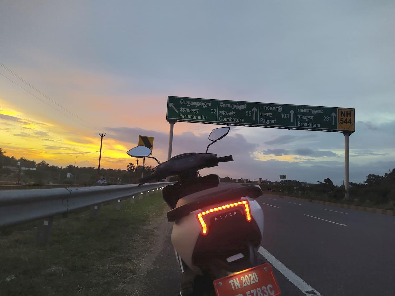 Ather 450 Coimbatore Tirupur