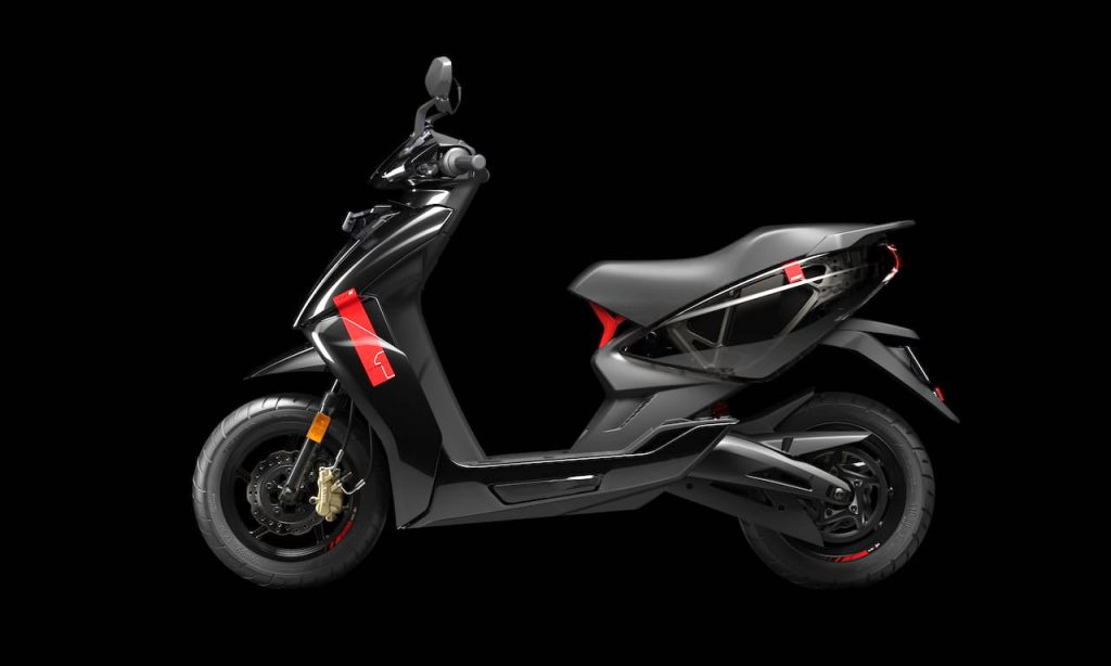 Ather 450X Series 1 profile side EVW