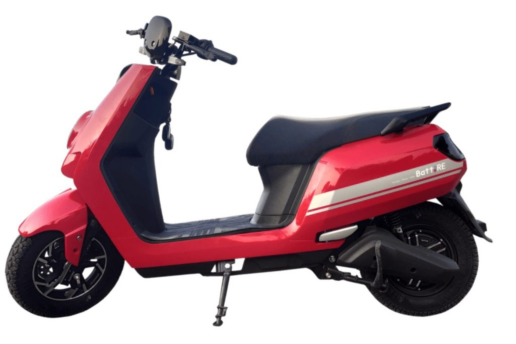 BattRE electric scooter side