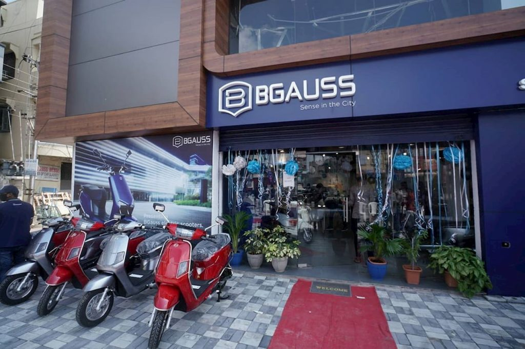 Bgauss Hyderabad showroom dealership