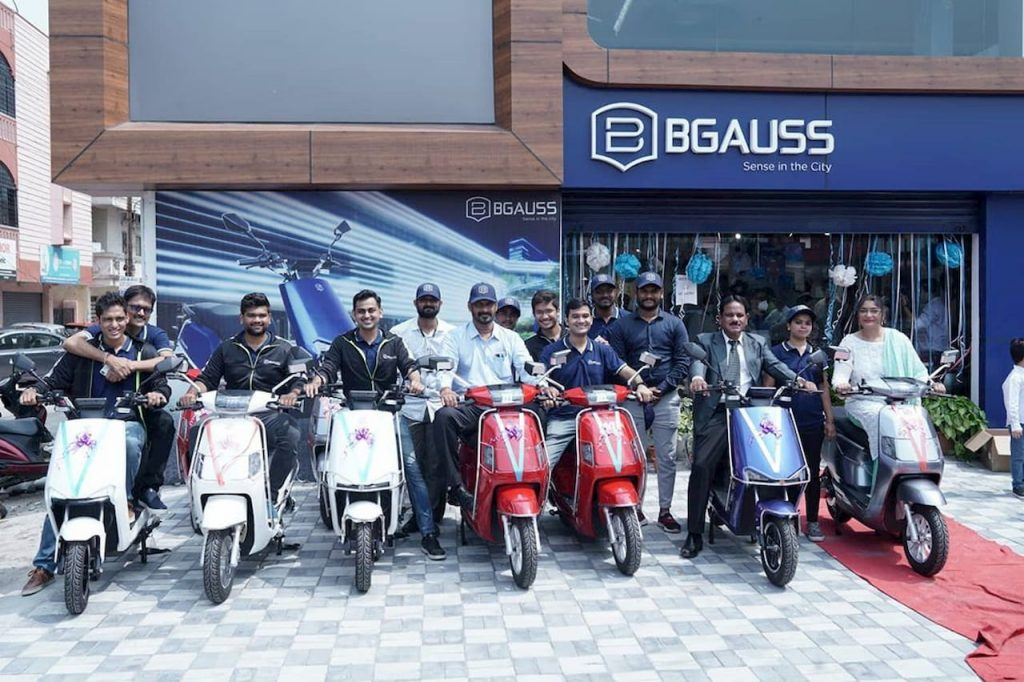 Bgauss electric scooters Hyderabad