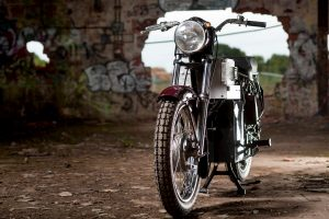 'Charging Bullet' electric Royal Enfield Bullet conversion