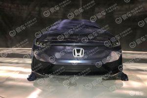 Honda Electric Car Concept front