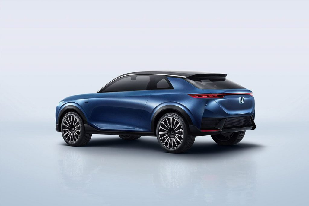 Honda SUV e concept rear quarters official