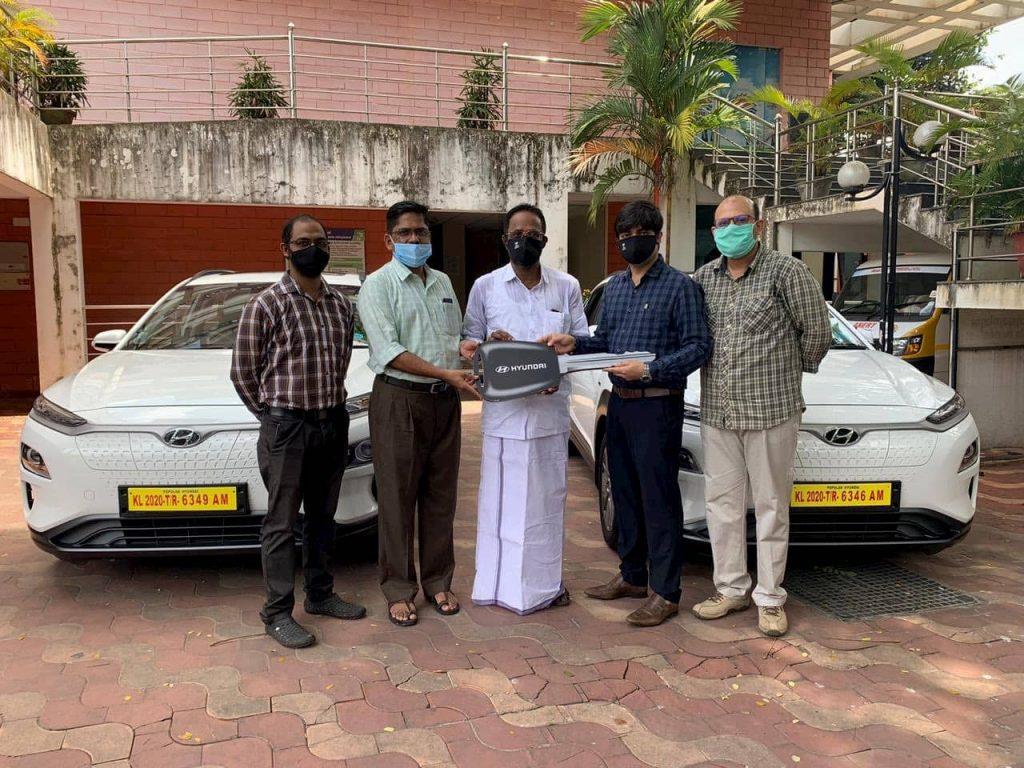Hyundai Kona Electric ANERT Kerala delivery