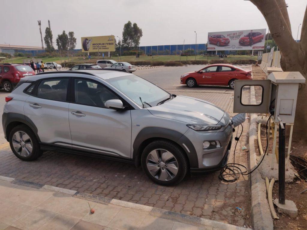 Hyundai Kona Electric charging - Hyundai Kona user review