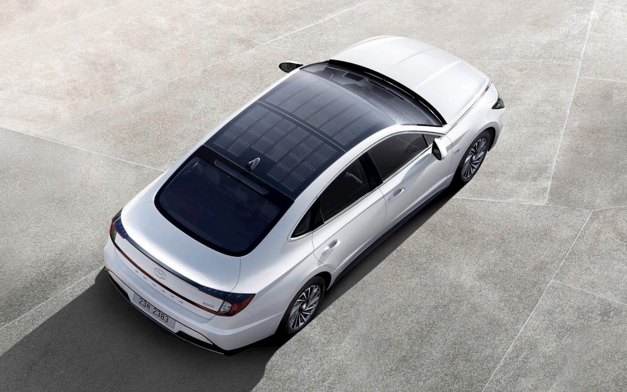 Hyundai Sonata solar roof new