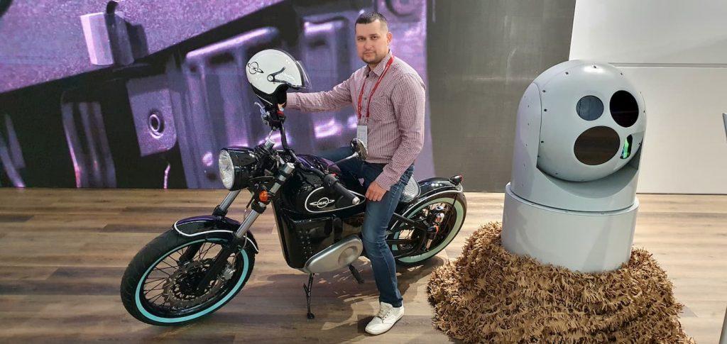 Kalashnikov IZH-49 electric bike features