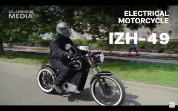 AK-47 maker Kalashnikov unveils its new Electric Motorcycle