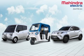 Mahindra eKUV100 & Atom made possible by MESMA 48 platform