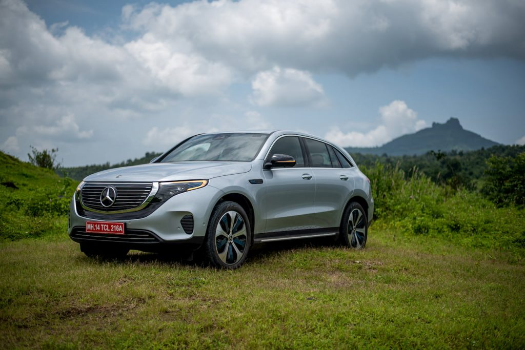 Mercedes EQC front quarters review India