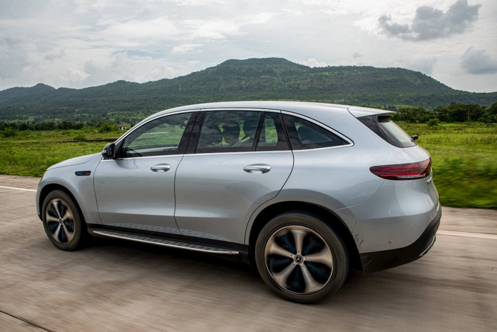Mercedes EQC left side India
