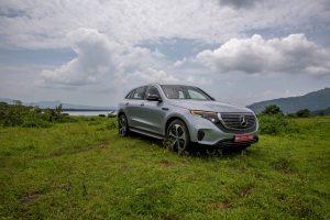 Mercedes EQC media drive India